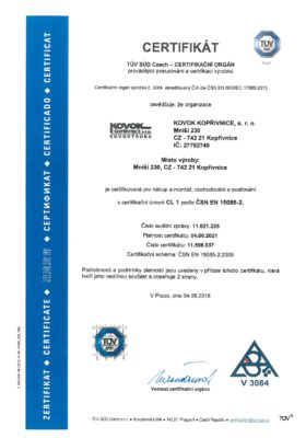 ČSN EN ISO 15085-2 1.str